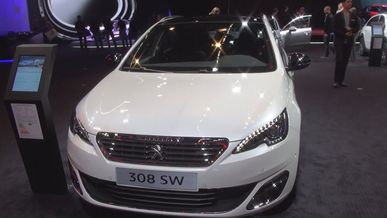 peugeot 308 sw gt line allure bluehdi 120 eat6 stop start 2016 exterior and interior in 3d. Black Bedroom Furniture Sets. Home Design Ideas