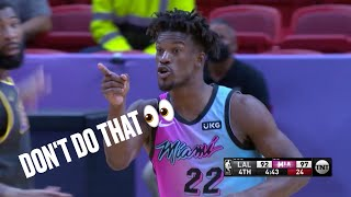 Jimmy Butler Tells Lakers
