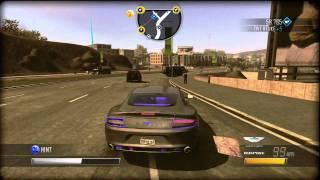 *Glitch* 2011 Aston Martin Rapide Colour Glitch Driver: San Francisco Review Test Drive