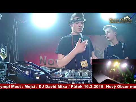 David Mixa live @ Nový Obzor music arena Most, 16.3.2018
