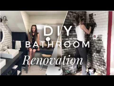 DIY full bathroom renovation
