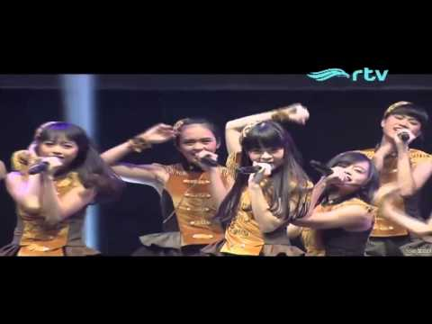 [HD] JKT48 - Gadis Rambut Hitam yang Punah @ Konser JKT48