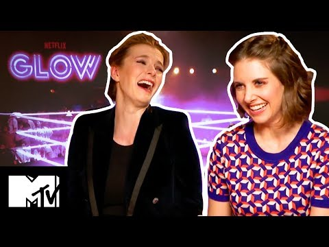 Glow Cast Play NEVER HAVE I EVER! | MTV Movies