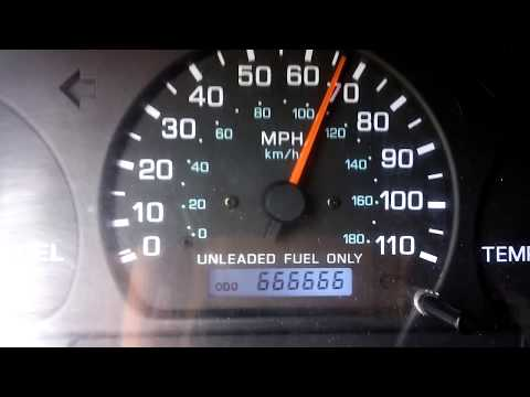 666,666 miles at 66 mph - 1998 Nissan Frontier