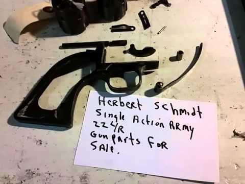 Herbert Schmidt saa gunparts for sale  - YouTube