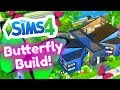 Building a Butterfly Home! The Sims 4