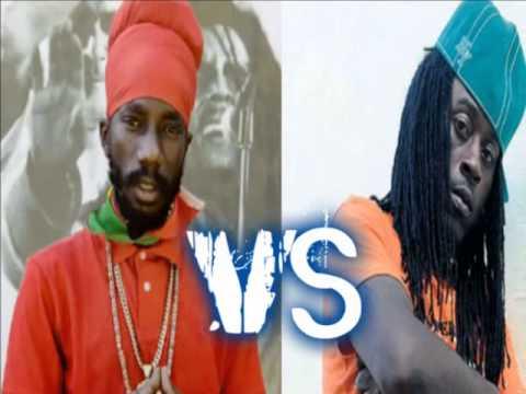 Sizzla VS Khago - Lyrical War Tun Up Loud (Who You Think A Lead??) 2012 ( By Dj Romaine)