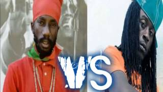 Sizzla VS Khago - Lyrical War Tun Up Loud (Who You Think A Lead??) 2012 ( By Dj Romaine)
