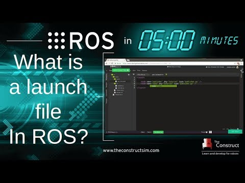 [ROS In 5 Minutes] 006 - What is a ROS launch file?
