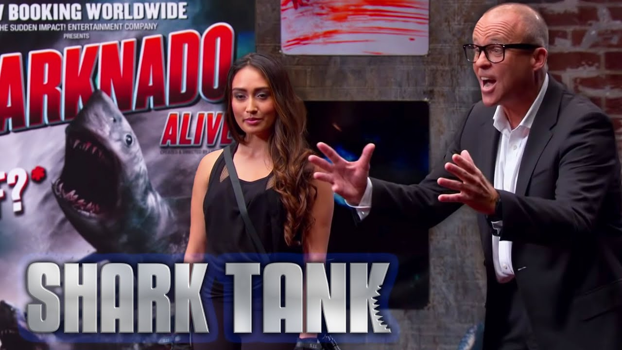 5 Sharks Invest $475,000 in Sharknado Experience | Shark Tank AUS