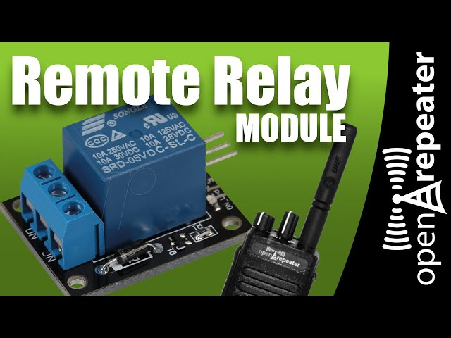 OpenRepeater - Remote Relay Module Demonstration