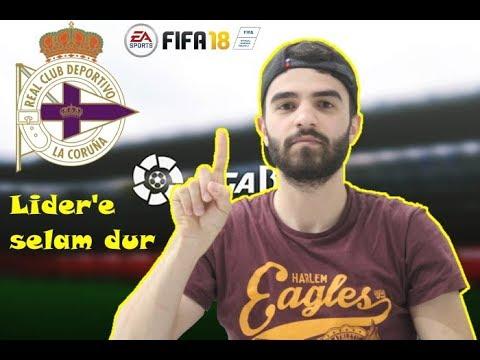 Fifa 18 Antrenör Kariyer - 7.Bölüm | Lidere Selam Dur...