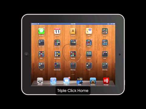 Use Reflection + VoiceOver for iPad Video