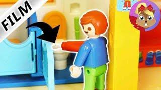 摩比游戏 Playmobil 玩偶影片 小尤又在幼儿园学校做恶作剧了