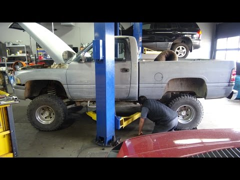 Part 2 Dodge Ram 1500 Transmission rebuild MrTruck's, Project Overkill
