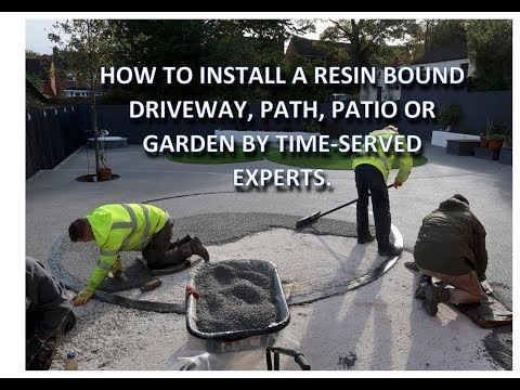 Resin Driveways | Patios | Garden installation guide by the Resin Install 0800 772 3586