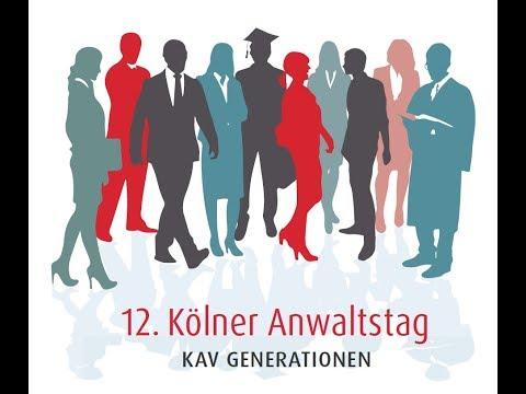 Kölner Anwaltstag 2019 - Ein Film des FFI-Verlags für MkG