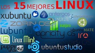 Los 15 mejores Linux en español!!