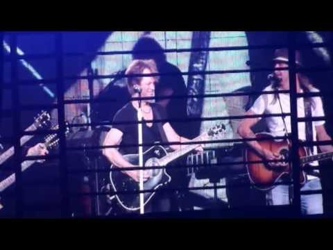 Bon Jovi - Wanted dead or alive (live ft. Kid Rock) - 17-03-2010