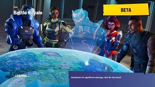 Fortnite: BLOCKBUSTER Challenge Week 3 Loading Screen Revealed! | Secret Battle Star Location!
