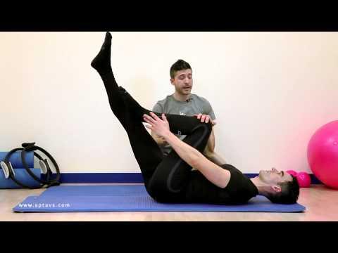 Single Leg - Pilates