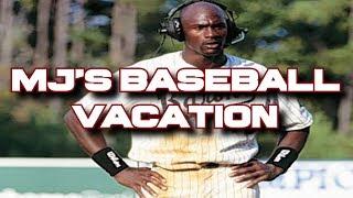 "Michael Jordan's ""time off"" as a baseball player is FAKE NEWS!"