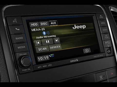 Firmware Update U-Connect 430 RHB RBZ Jeep Chrysler Dodge Wrangler