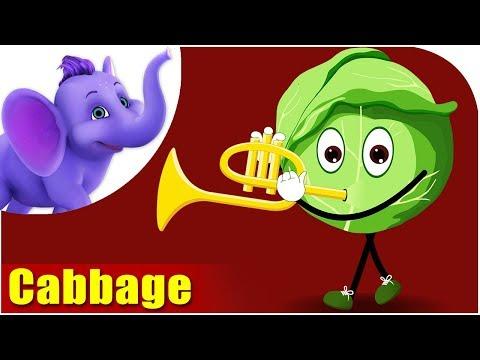 Patta Gobi (Cabbage) - Vegetable Rhymes in Hindi