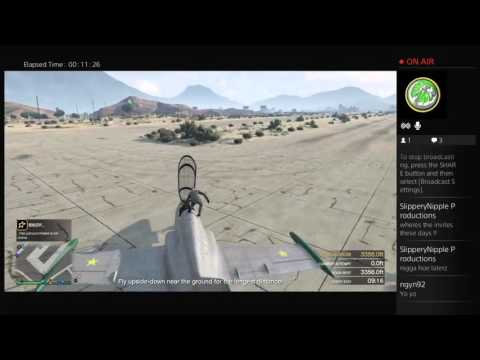 Villains_Anonymous livestream - GTA 5 UFO hunting