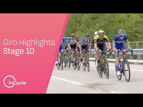Giro d'Italia 2018 | Stage 10 Highlights | inCycle