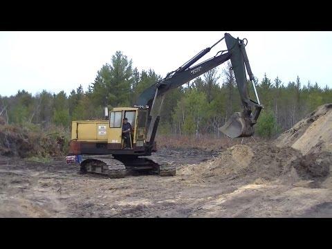 Bucyrus Erie 20-H Excavator 4-71 Detroit (Old Dinosaur Still Working)