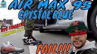 nike air max 95 crystal blue og