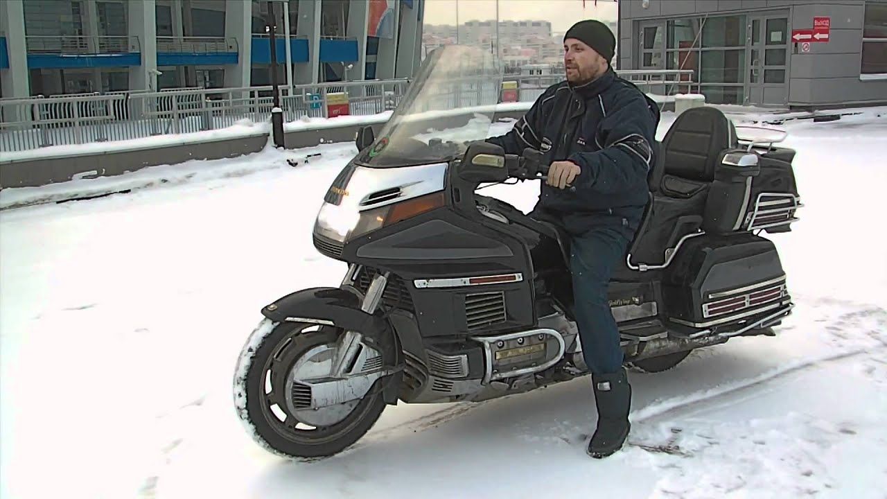 Honda GL 1800 Gold Wing Tour DCT 2018 — обзор Омоймот - YouTube