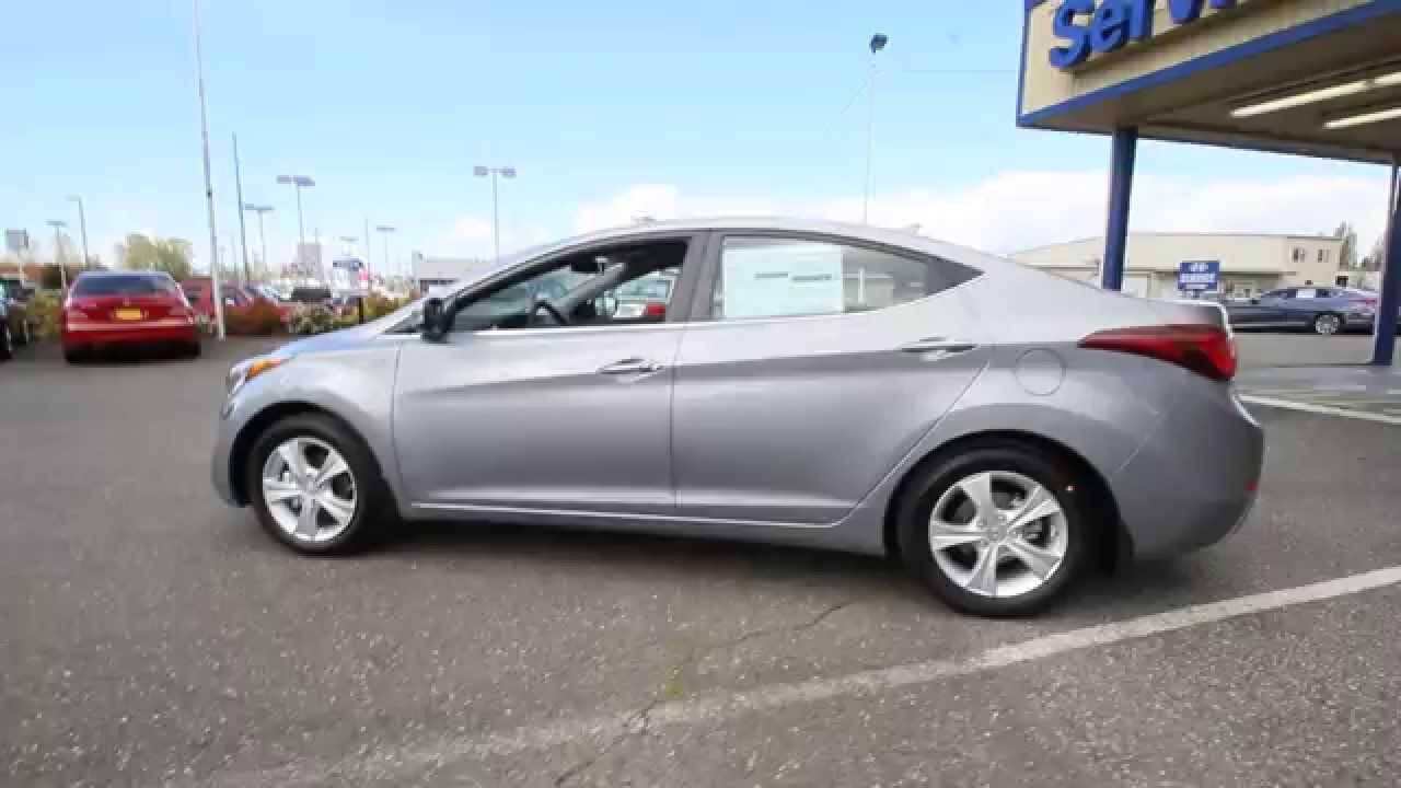 2016 Hyundai Elantra Titanium Gray Metallic Gu476746