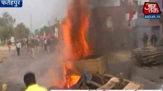 Clashes In Fatehpur Causes Tension