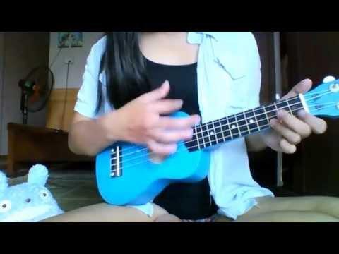 Kaze ni naru(OST GHIBLI STUDIO) ukulele(chords and strumming)