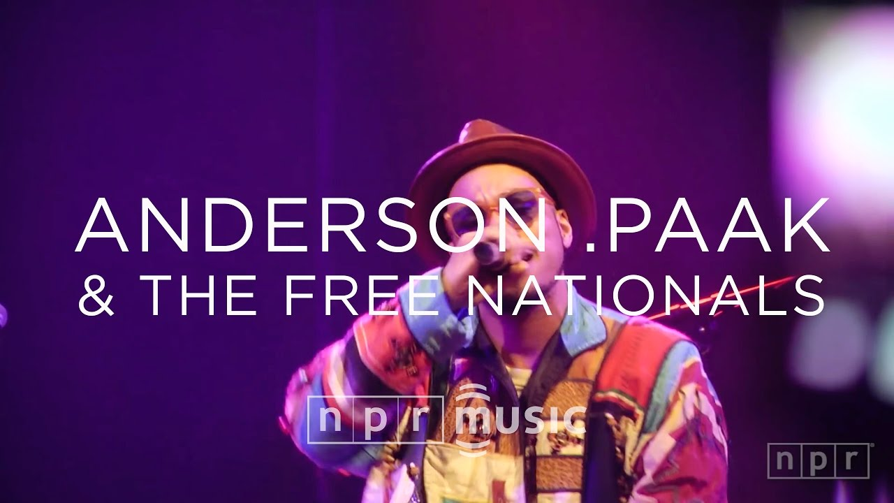 Anderson .Paak & The Free Nationals: SXSW 2016 | NPR MUSIC FRONT ROW
