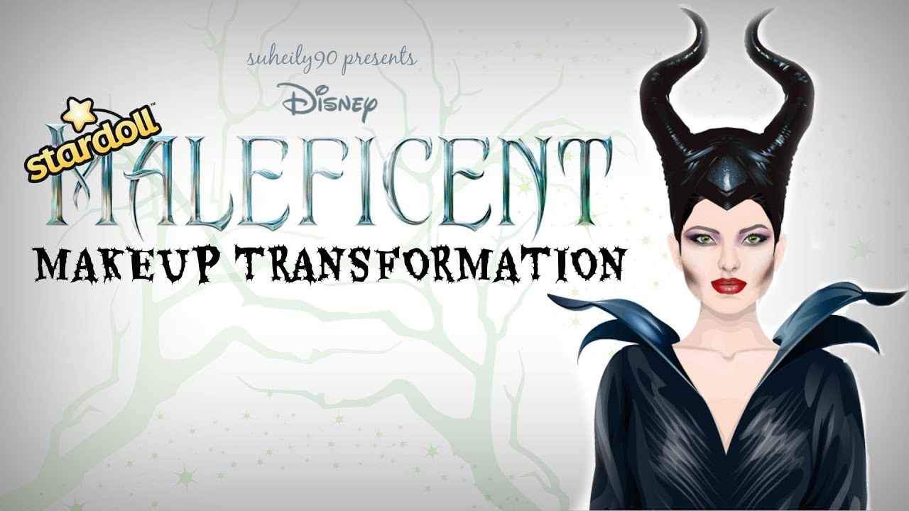 Stardoll cosplay disneys maleficent makeup transformation youtube baditri Gallery