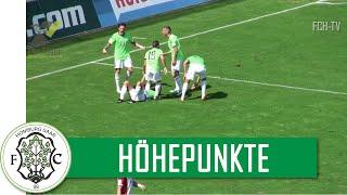 Höhepunkte Kickers Offenbach -  FC 08 Homburg (RL Südwest 2015/16)