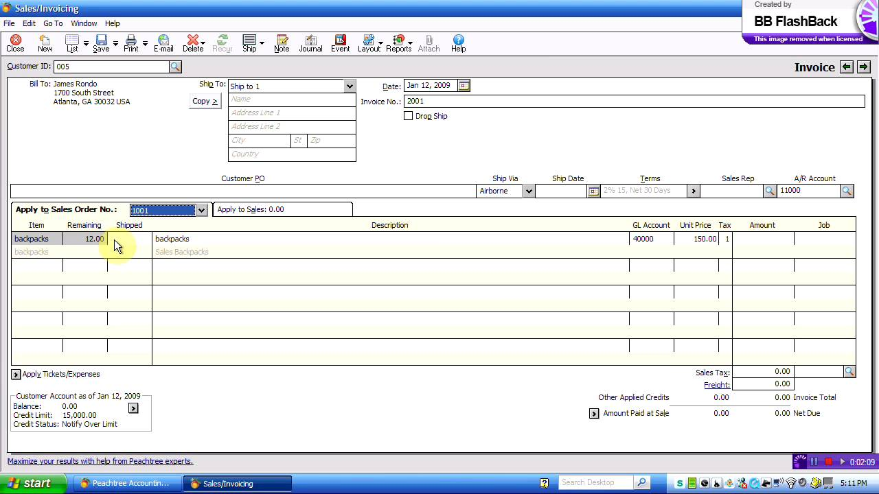 peachtree chap 3 s invoices mov peachtree chap 3 s invoices mov