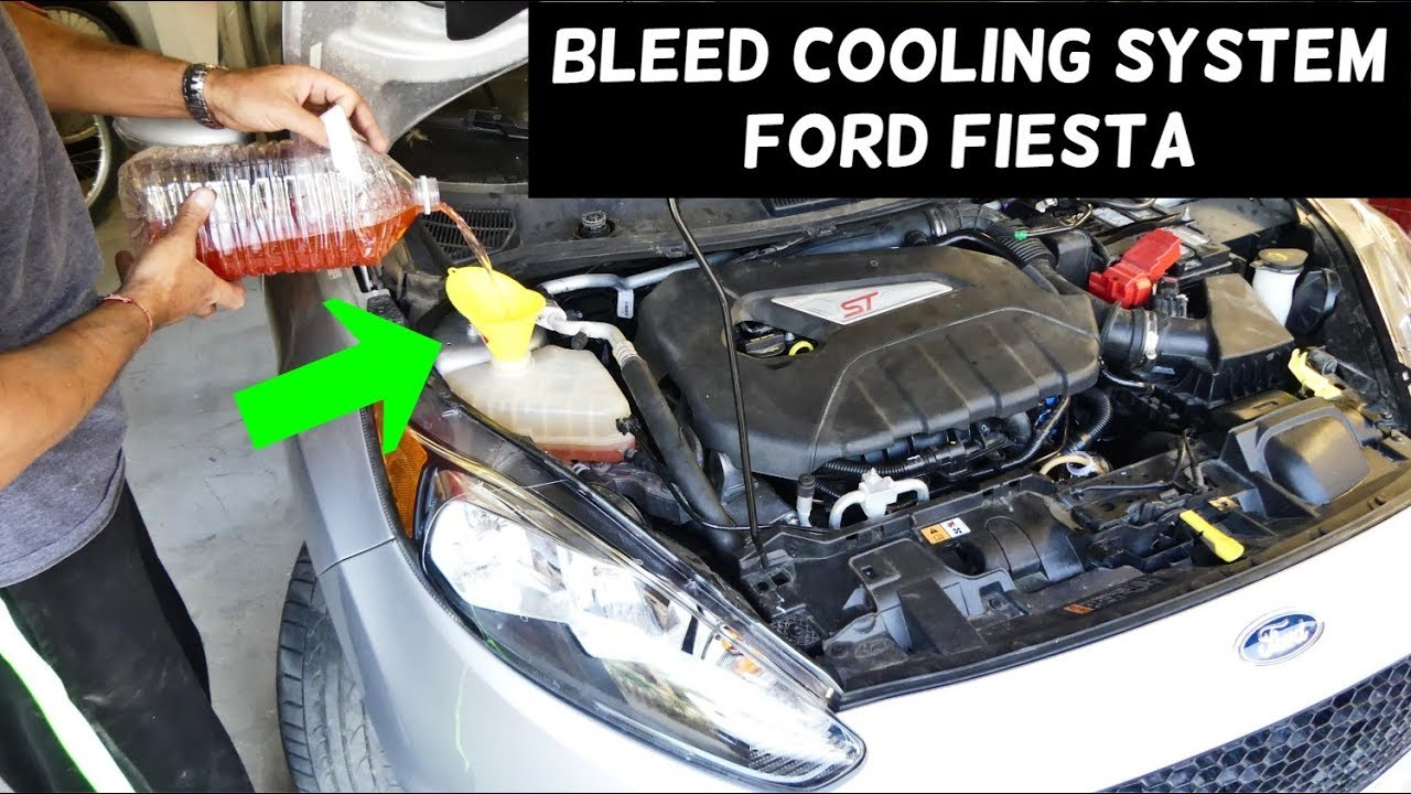 How To Bleed Cooling System On Ford Fiesta Mk7 St Youtube