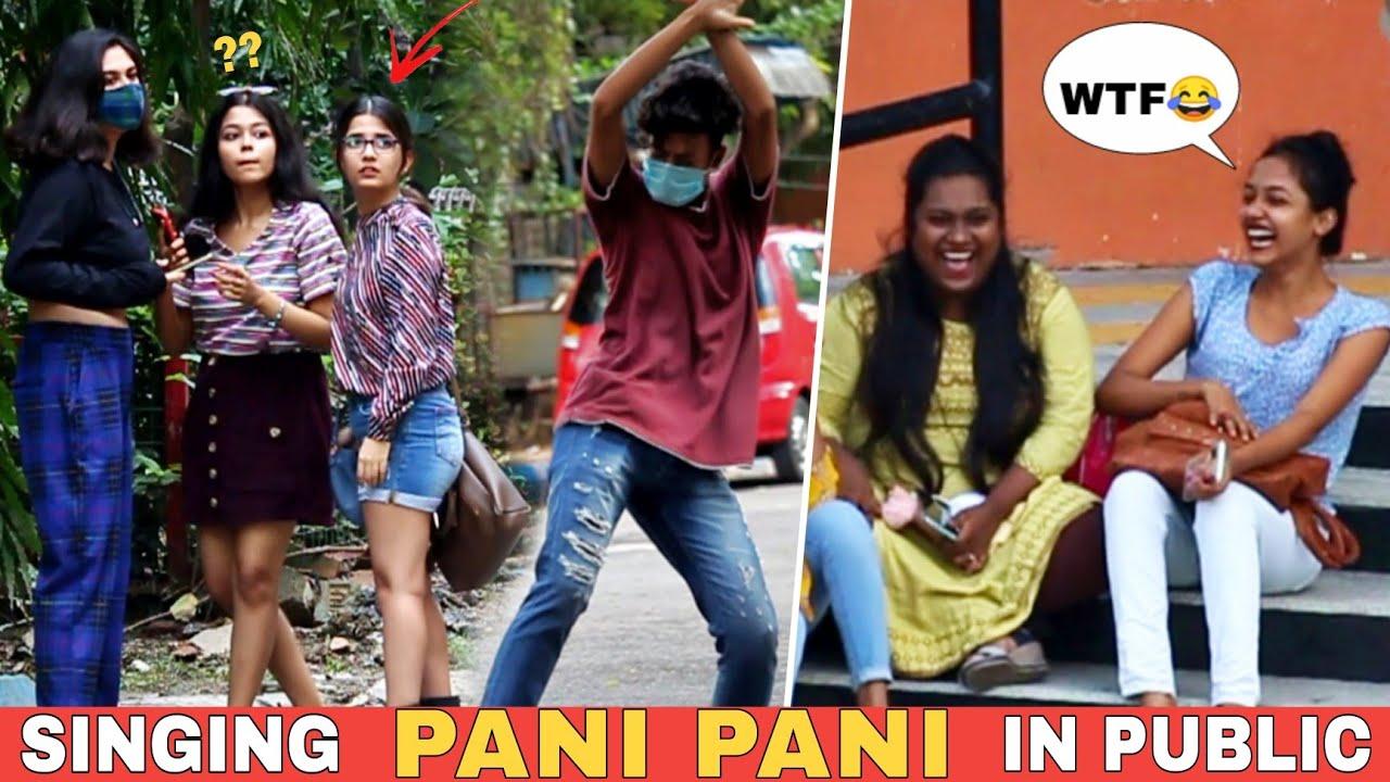 SINGING PANI PANI IN PUBLIC PART 2 | EPIC REACTIONS 😂 | VINE HUNT |