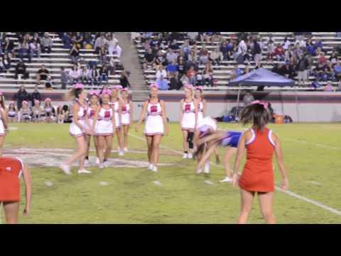 Sanger High School Cheer Unity Dance 10.7.16