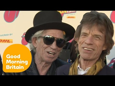 Mick Jagger And Keith Richards Talk About Exhibitionism | Good Morning Britain