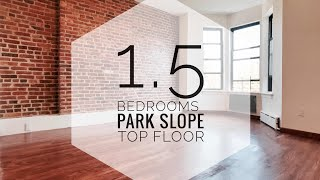 Top Floor Central Park Slope Apartment in Brooklyn NYC! Renting Guide & Video Tour!
