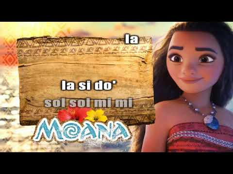 Moana - How Far I'll Go -  FLAUTA COVER