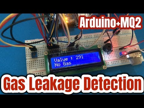 How to connect MQ2 Gas Sensor with Arduino