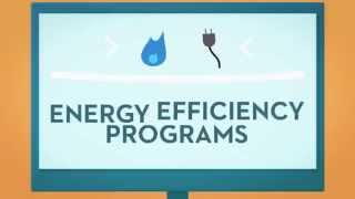 Save on electric and natural gas with our energy efficiency programs
