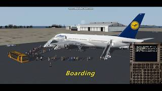 [FSX] Lufthansa B772 Flight fr…