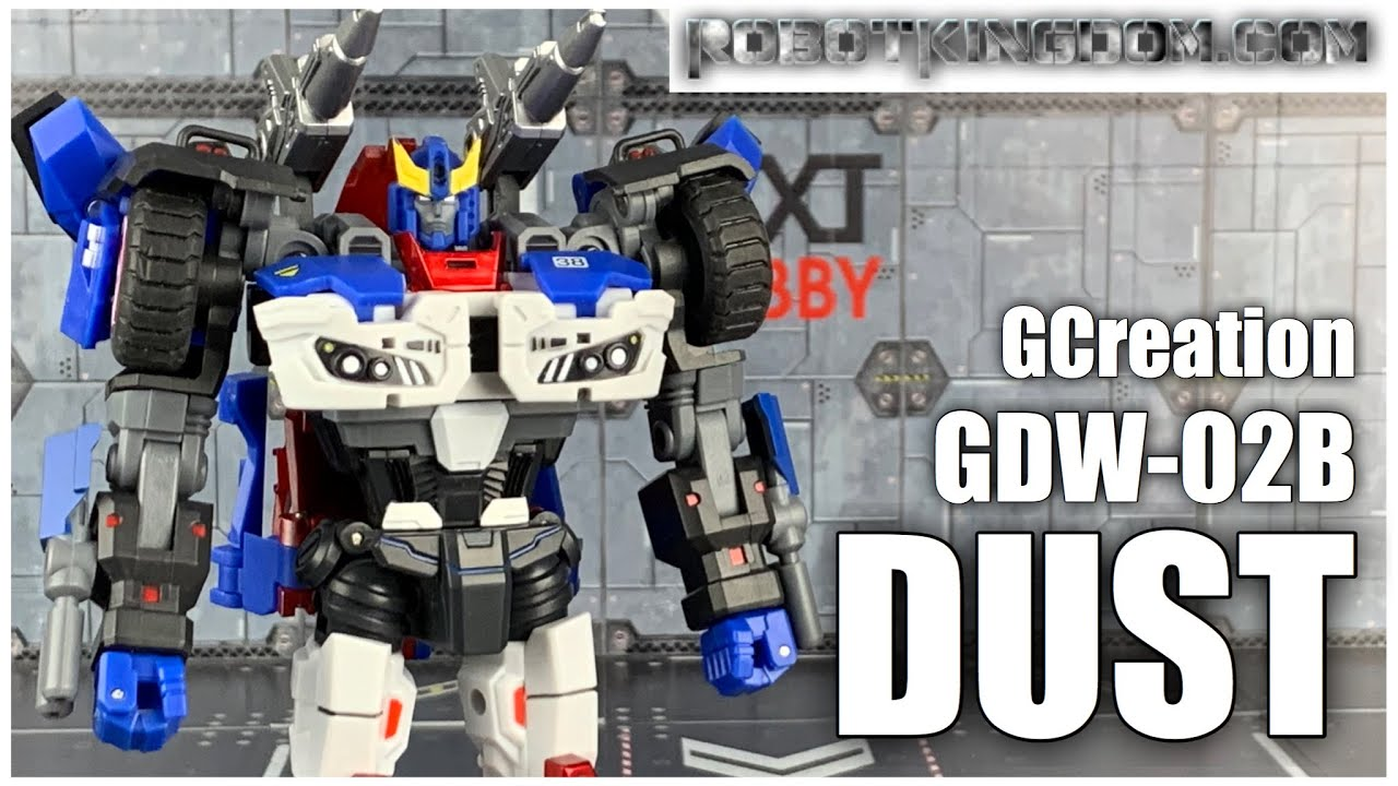 GCreation GDW-02B Dust (IDW Smokescreen) In-Hand Review by Benscollectables